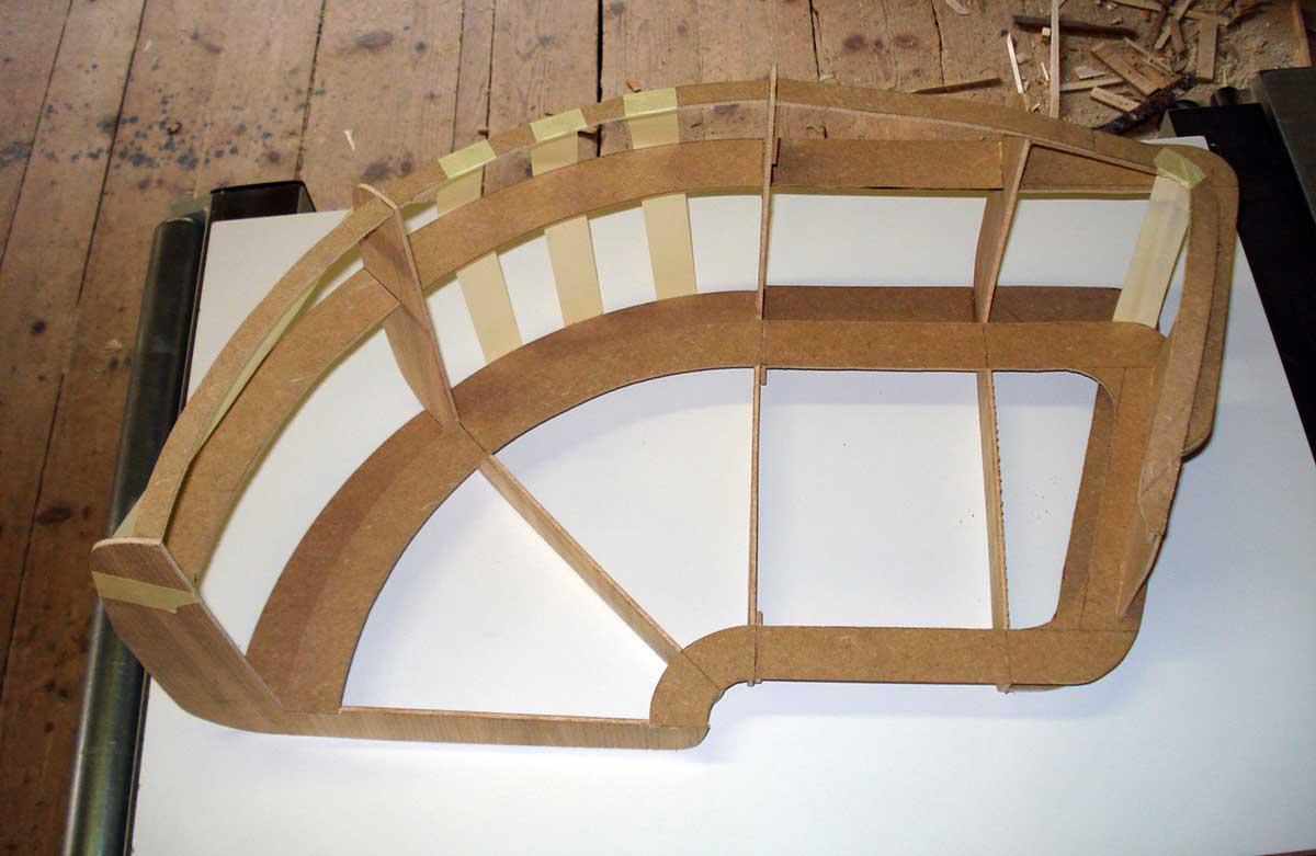 Construction d 39 un canap menuiserie charpente for Fabrication d un canape